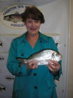Ladies Shore Record Gilthead Bream